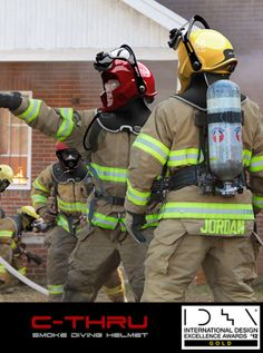 C-Thru; Smoke Diving Helmet by omer haciomeroglu, via Behance