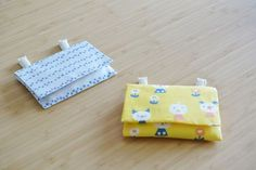 Name Tags, Uniqlo, Handicraft, Needlework, Diy And Crafts, Triangle, Coin Purse, Sewing, Fabric