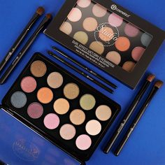 Coming soon! Here's look at our Studio Pro Dual Effect Wet/Dry Eyeshadow Palette! All Things Cute, Bh Cosmetics, Color Stories, Wet And Dry, Colorful Makeup, Beauty Hacks, Beauty Tips, Eyeshadow Palette, Swatch