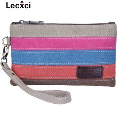 Lecxci Canvas Wristlet Clutch Wallet Coin Change Purse Bag handbags Organiser for Smartphone, Credit Cards , https://myalphastore.com/products/lecxci-canvas-wristlet-clutch-wallet-coin-change-purse-bag-handbags-organiser-for-smartphone-credit-cards/,  Check more at https://myalphastore.com/products/lecxci-canvas-wristlet-clutch-wallet-coin-change-purse-bag-handbags-organiser-for-smartphone-credit-cards/
