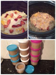 Fruity Baby Porridge