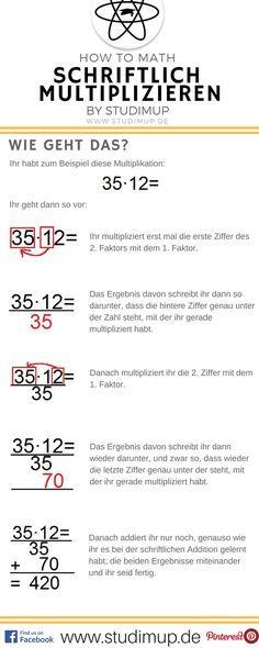 22 best schriftlich Multiplizieren images on Pinterest | Primary ...