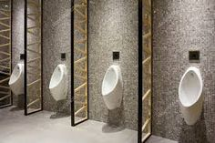 Wc Public, Public Hotel, Commercial Toilet, Commercial Design, Office Bathroom, Washroom, Toilette Design, Restroom Design, Public Bathrooms