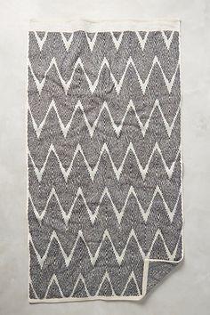 Woven Chevron Towel Collection #anthropologie