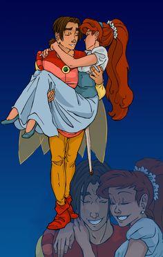 Thumbelina and Cornelius | Thumbelina cosplay by iesnoth