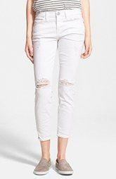 Current/Elliott 'The Stiletto' Jeans (Salty Destroy)