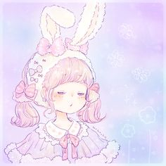 Lover of fairy kei, mahou kei, and all things kawaii. Welcome to my wonderland! Anime Chibi, Art Anime, Anime Kunst, Art Kawaii, Manga Kawaii, Kawaii Anime Girl, Illustration Mignonne, Cute Illustration, Kawaii Drawings