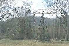 Lake Shawnee Amusement Park - Princeton, West Virginia. It opened in 1926 then closed in 1966 after the accidental deaths of a couple of kids. It reopened in 1985 closing again in 1988. There are reports of disembodied voices, Native American chanting, unexplained sounds, abandoned rides moving on their own and a full-bodied apparition of a man in one of the Ferris Wheel cars.
