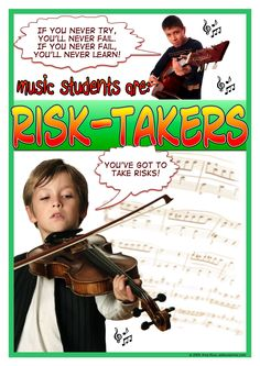 Risk-Takers. Designed by Amy Keus. A freebie from http://www.ibomusicalvoyage.com/posters--graphics.html