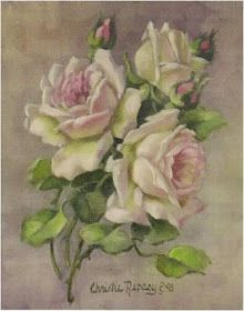 Furniture decals shabby chic french image transfer vintage Pink Rose buds flowers floral upcycling art crafts scrapbooking card making diy Arte Floral, Decoupage, Botanical Illustration, Botanical Art, French Images, Art Japonais, Romantic Roses, Rose Art, China Painting
