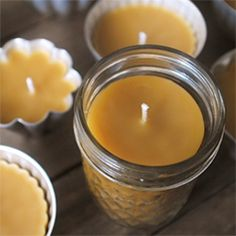 DIY: Beeswax Candles