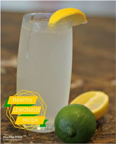 Healthy Lemonade Recipe | Sharny and Julius