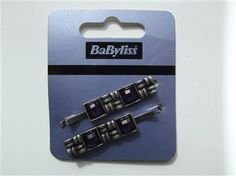 BaByliss set of 2 hair clips / hair accessory BNWT purple on dark metal £0.99