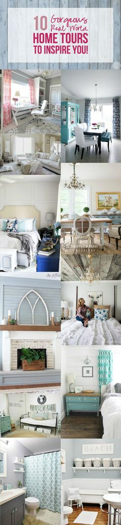 10 Gorgeous Real World Home Tours to Inspire You! - Happily Ever After, Etc.