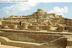 La citadelle vu du grand bain - Mohenjo-Daro