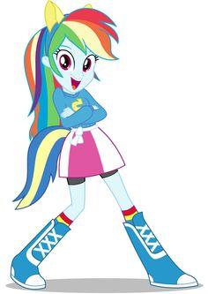 My Little Pony Friendship Is Magic Equestria Girls Rainbow Dash