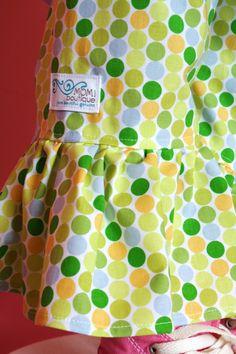 Polka Dot Ruffle Bottom Pants - Momi boutique