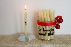DIY Archives - Page 2 de 19 - Maman Nougatine Moment, Diy, Voici, Candles, Blog, Gifts, Days Before Christmas, Advent Calendar, Bricolage Noel