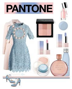 """Pantone"" by ragnh-mjos ❤ liked on Polyvore featuring beauty, Alexander McQueen, Chicwish, HoneyBee Gardens, Drybar, Sephora Collection, Estée Lauder, Bobbi Brown Cosmetics, rms beauty and Deborah Lippmann"