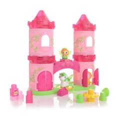 "Mega Bloks Lil Princess 3-Story Enchanted Castle (80412) - MEGA Brands - Toys ""R"" Us - christmas"