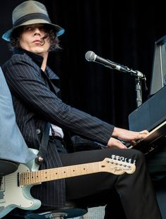 JW, a piano, and a sweet telecaster