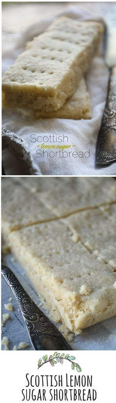 Lemon Sugar Shortbread A buttery, melt in your mouth shortbread with a burst of lemon flavor!A buttery, melt in your mouth shortbread with a burst of lemon flavor! Cookie Desserts, Just Desserts, Cookie Recipes, Dessert Recipes, Cupcake Recipes, Yummy Treats, Sweet Treats, Yummy Food, Healthy Food
