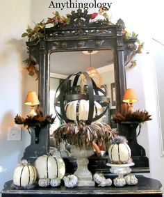 Mantel  Decorations : IDEAS &  INSPIRATIONS :Mantel Decorating Ideas