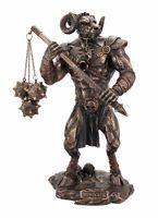 Greek Mythology Minotaur Bronzed Finish Statue