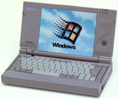 Tech from days gone by: Toshiba Libretto 50 Computer Gadgets, Gadgets And Gizmos, Tech Gadgets, Diy Laptop, 8 Bits, Electronic Recycling, Old Computers, Office Setup, Cool Cases