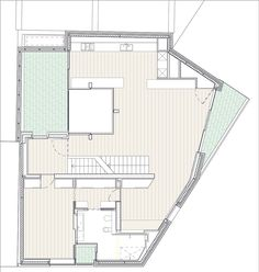 Levring House / Jamie Fobert Architects, Floor Plan-1