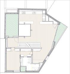 Levring House / Jamie Fobert Architects, Floor Plan-1