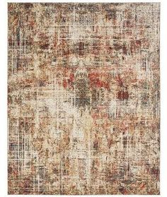 Kalaty Theory Area Rug - This Ivory - Crimson rug would make a wonderful addition to any home. Navy Blue Area Rug, Beige Area Rugs, Stonehenge, Furniture Styles, Power Loom, Oriental Rug, Abstract Designs, Modern, Anchor