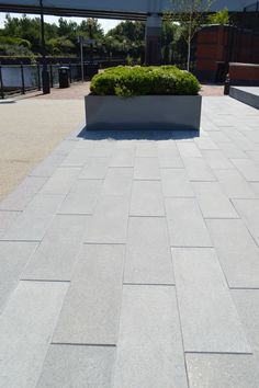 Celestia Linear Paving @ The Waterside, The Soapworks, Salford. #Linear Paving