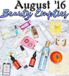 Beauty Products Empt