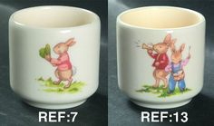 Single Egg Cup in the Bunnykins (albion Shape) pattern by Royal Doulton China