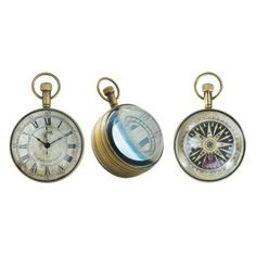 Check out this item at One Kings Lane! The Eye of Time Clock