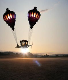 steampunktendencies:   Morning Flight ~ Andrew Forrester  Facebook |  Google + | Twitter  Steampunk Tendencies Official Group