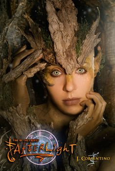 °GreenWoman by Battledress  use of bark on forehead to act as base for treebranch crown?