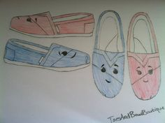 The Blue Umbrella TOMS. THESE WILL BE MADE.