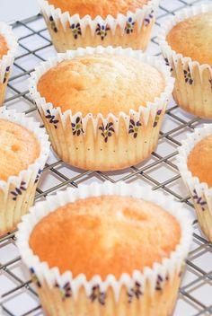 Perfekte vanille cupcakes fra Bageglad.dk