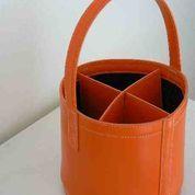 Modèle 4 bouteilles orange