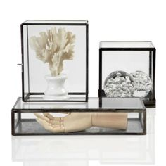 Zinc Display Boxes from Z Gallerie