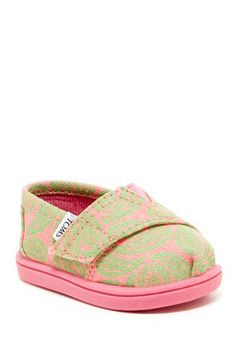 Paisley Tiny Classic Slip-On Shoe (Baby & Toddler) by TOMS on @HauteLook