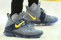LeBron James Debuts Another LeBron 14 PE Colorway
