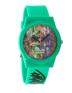Flud Brings you this limited edition Ron English collaboration Faces Watch featuring some of his most recognized work