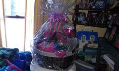 Put together a gift basket for my 17 yr old granddaughter, included: 1yr sub. to 17 Magazine, bottles of energy drinks, candy, make-up, bracelet charms, and other tinkets. A wallet with $17 too!