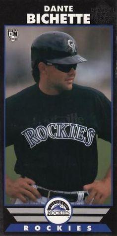 Dante Bichette Colorado Rockies, Baseball Cards, Sports, Hs Sports, Sport