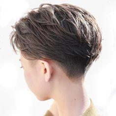 Super Haircut For Men Cute 24 Ideas Short Hair Tomboy, Asian Short Hair, Short Thin Hair, Girl Short Hair, Short Hair Cuts, Short Girls, Haircuts For Wavy Hair, Girl Haircuts, Undercut Hairstyles