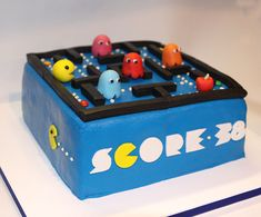 Image result for pacman cakes
