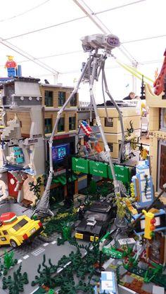 Lego City Mocs – How to build it Lego Zombies, Lego Wedo, Lego Sculptures, Micro Lego, Lego Army, Amazing Lego Creations, Lego Pictures, Lego Mechs, All Lego